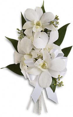 Graceful Orchids Corsage Flowers