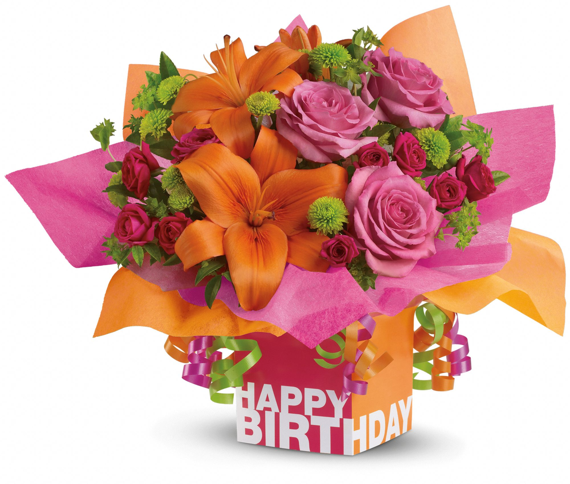 rosy birthday present flowers, rosy birthday present flower bouquet, Beautiful flower