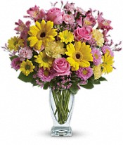 Teleflora's Dazzling Day Bouquet Flowers