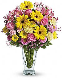 Teleflora's Dazzling Birthday Bouquet