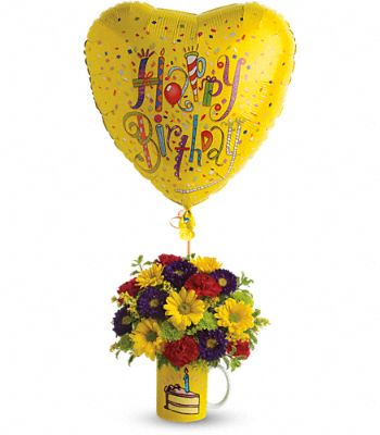 Teleflora's Hooray for Birthday Flowers