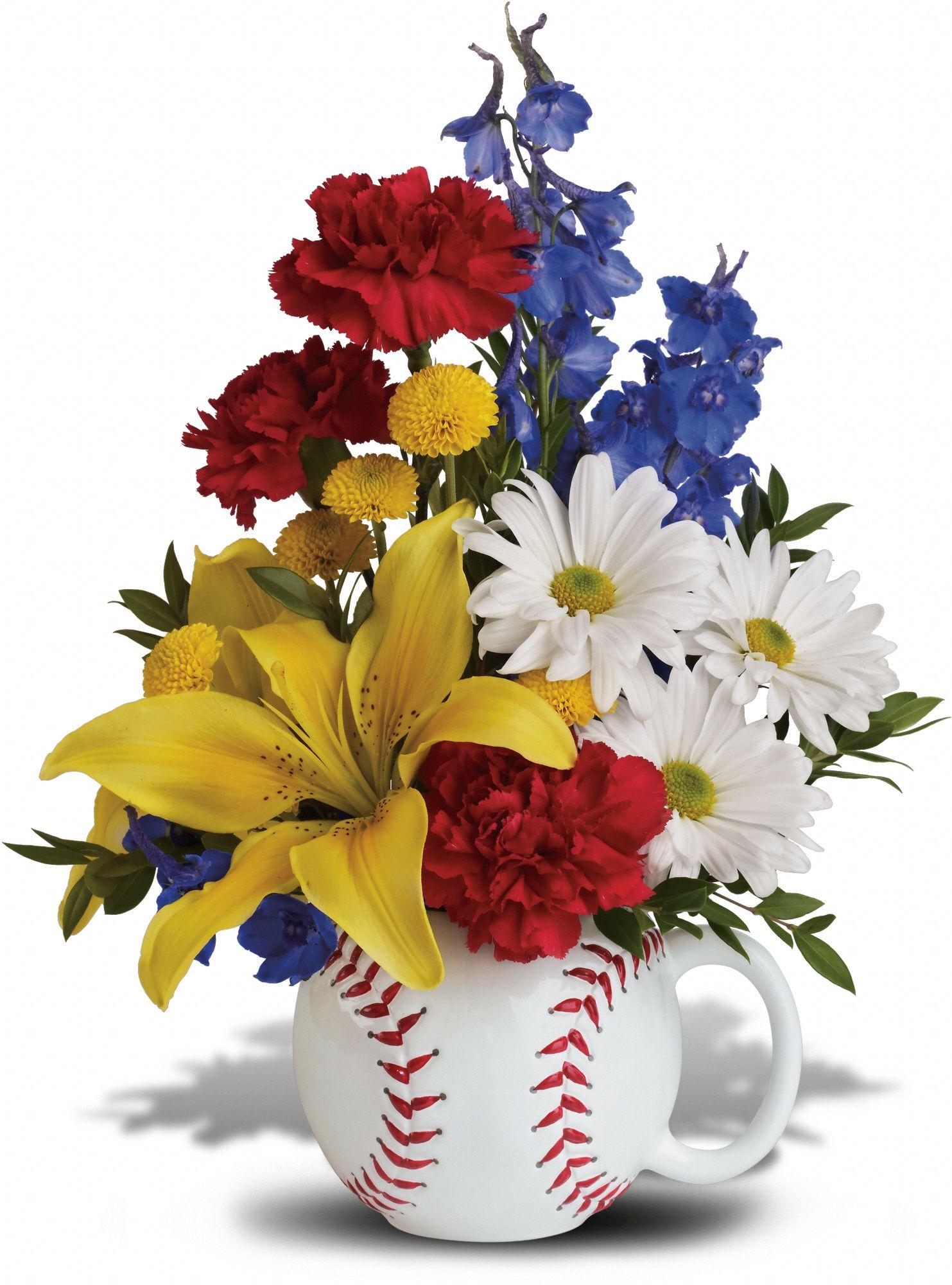 Baseball Bouquet