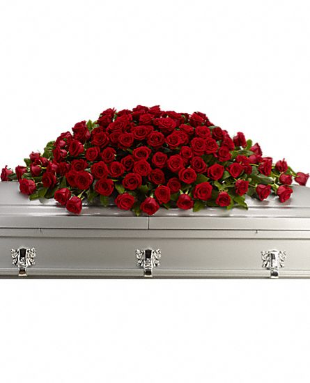 Greatest Love Casket Spray Flowers