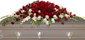 Garden of Grandeur Casket Spray Flowers