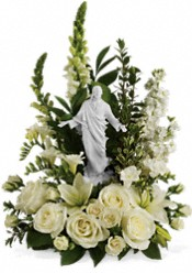 Teleflora's Garden of Serenity Bouquet Flowers