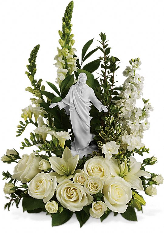Teleflora's Garden of Serenity Bouquet Flowers