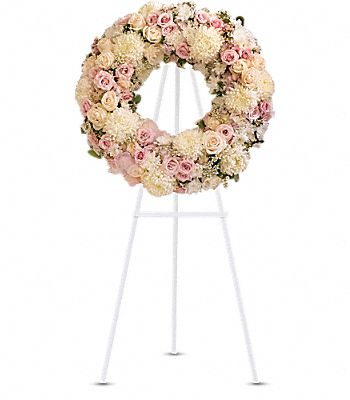 Peace Eternal Wreath Flowers