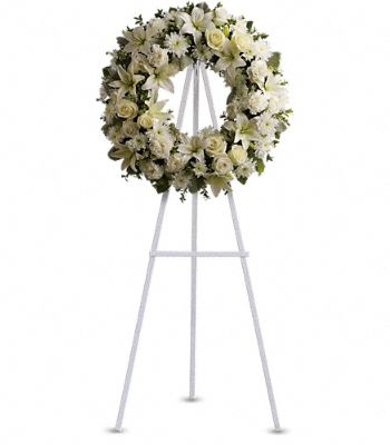 Serenity Wreath Flowers