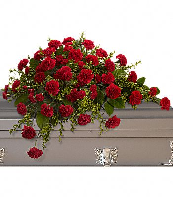 Adoration Casket Spray Flowers