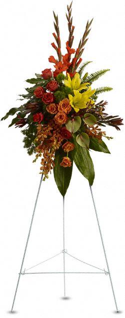 Tropical Tribute Spray Flowers