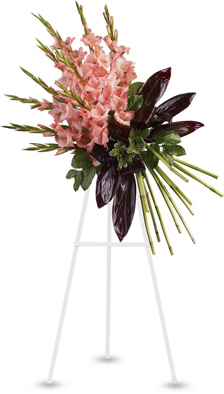 Elegant Tribute Spray Flowers