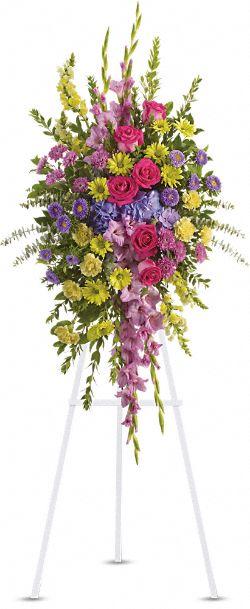 Bright and Beautiful Spray Flowers