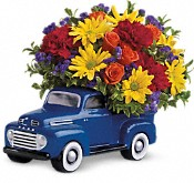 Teleflora's '48 Ford Pickup Bouquet Flowers