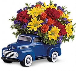'48 Ford Pickup Bouquet Flowers
