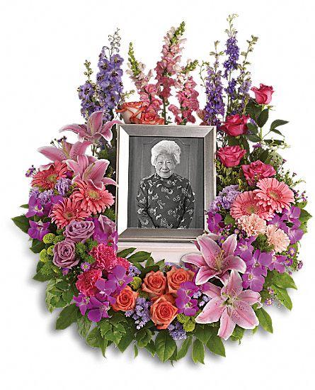 In Memoriam Wreath Flowers In Memoriam Wreath Flower