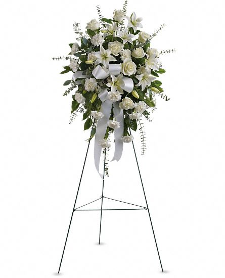 Sentiments of Serenity Funeral Spray