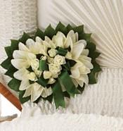 Pure Faith Pillow Flowers