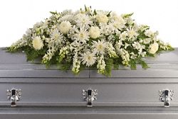 Enduring Light Casket Spray Flowers