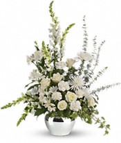 Serene Reflections Bouquet Flowers