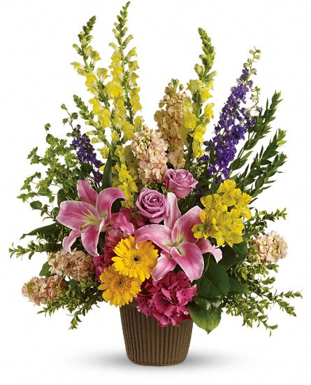 Glorious grace bouquet flowers glorious grace flower - Arreglos florales artificiales modernos ...