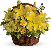 Basket Full of Wishes Flowers