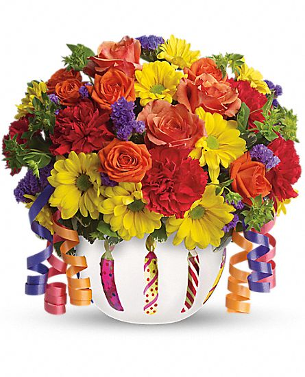 Teleflora's Brilliant Birthday Blooms Flowers
