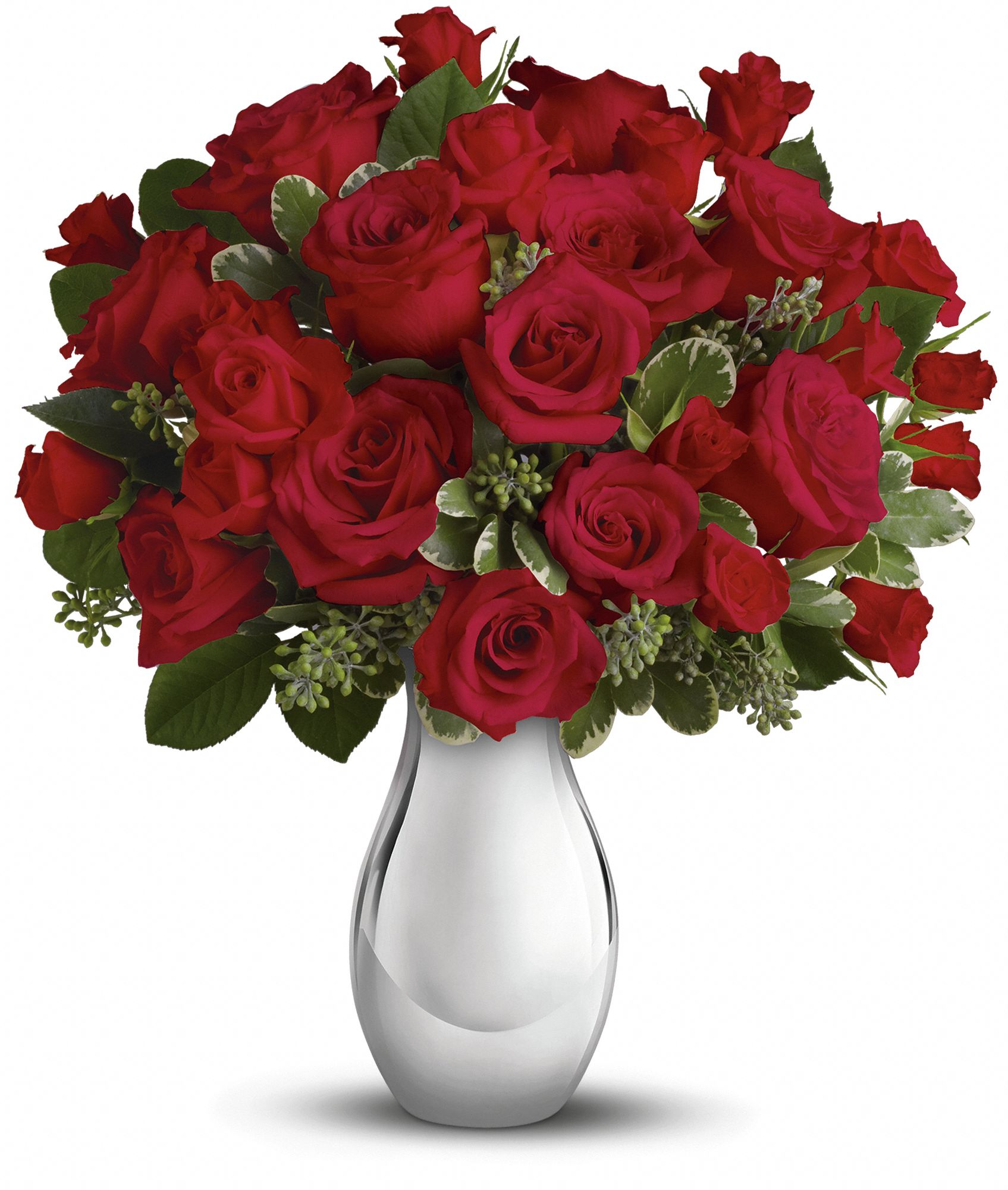 True Romance Red Roses Bouquet