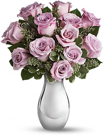 Teleflora's Roses and Moonlight Bouquet