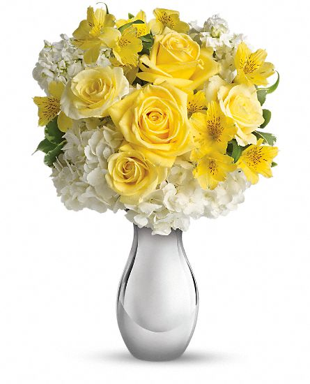 Pretty yellow flower arrangements for any occasion so pretty bouquet flowers mightylinksfo Gallery