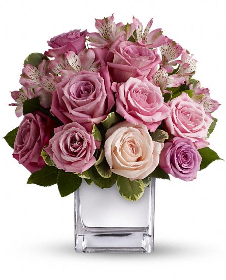 Teleflora's Rose Rendezvous Bouquet Flowers