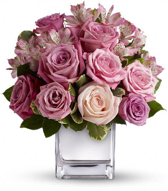 Teleflora's Rose Rendezvous Bouquet Flowers