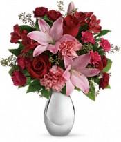 Bouquet de fleurs Baiser au clair de lune
