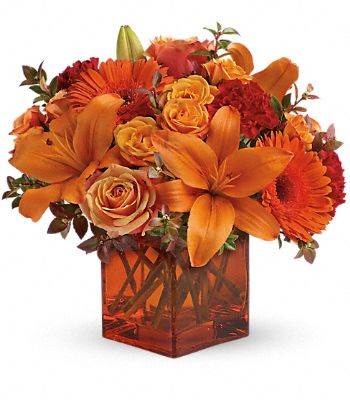 Teleflora's Sunrise Sunset DX Flowers
