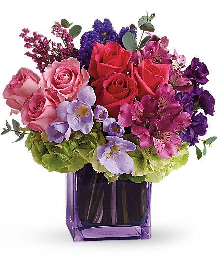 Exquisite beauty by teleflora flowers exquisite beauty by teleflora flower b - Un beau bouquet de fleurs ...