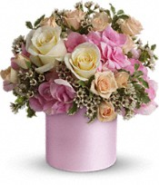 Teleflora's Blushing Beauty Flowers