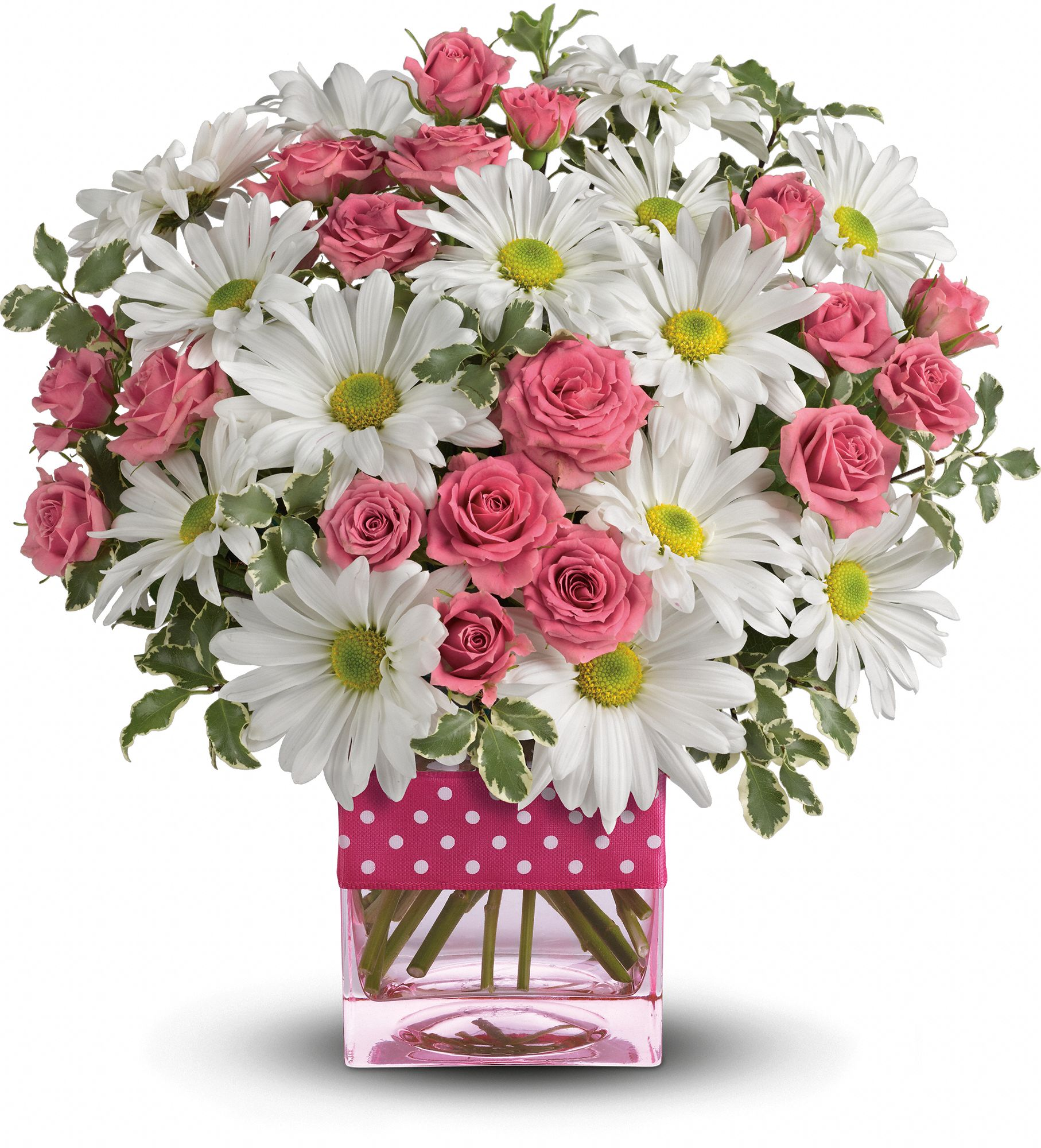 Polka Dots and Posies Bouquet