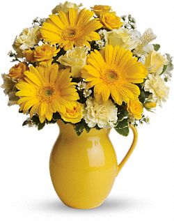 Sunny Day Pitcher Bouquet