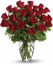 Always on My Mind PM - Long Stemmed Red Roses Flowers