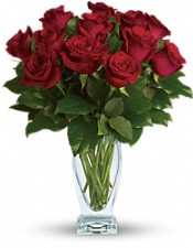 Teleflora's Rose Classique - Dozen Red Roses Flowers