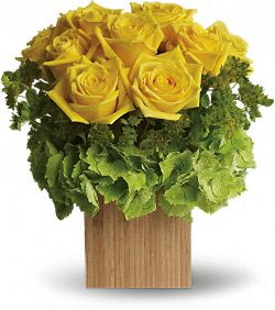 Teleflora's Box of Sunshine Flowers