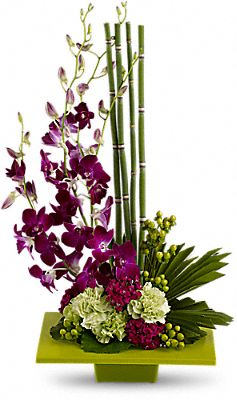 Zen Artistry Tropical Bouquet