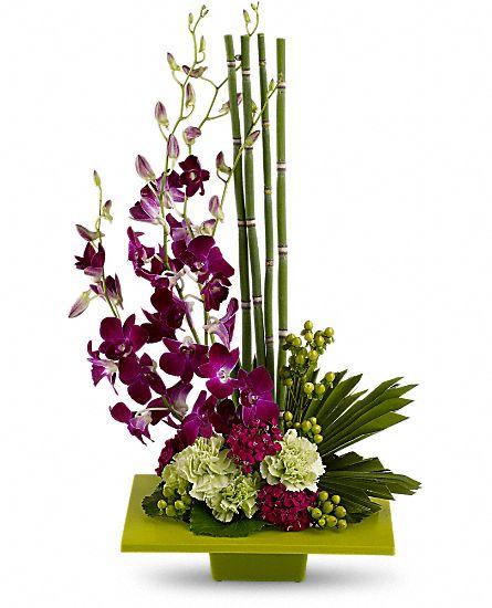 Zen artistry flowers zen artistry flower bouquet for Bouquet de fleurs zen