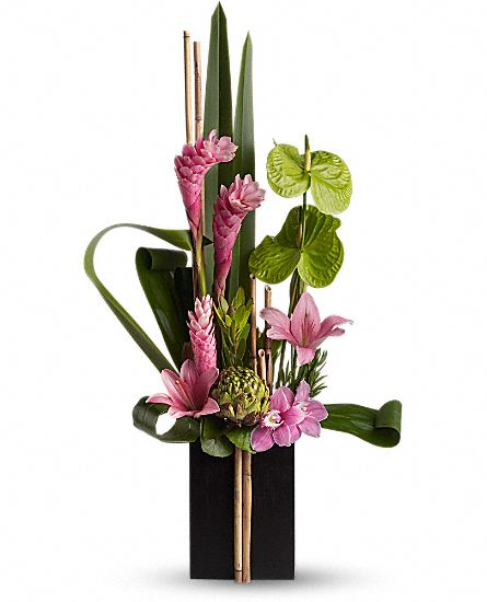 Now and zen flowers now and zen flower bouquet - Arreglos florales artificiales modernos ...