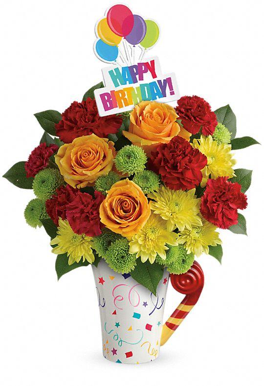 Teleflora's Fun 'n Festive Bouquet Flowers