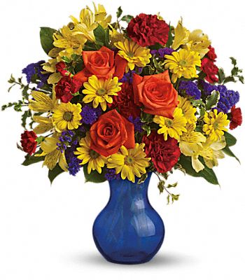 Teleflora's Three Cheers for You! Flowers