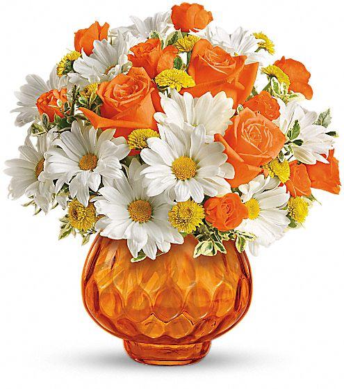 Teleflora's Rise and Sunshine Flowers