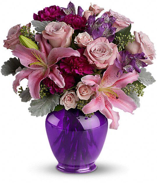 Teleflora's Elegant Beauty Flowers