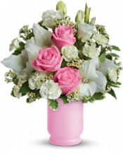 Pink and White Delight Flowers