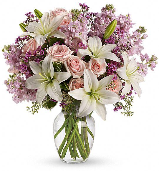 Teleflora's Blossoming Romance Flowers