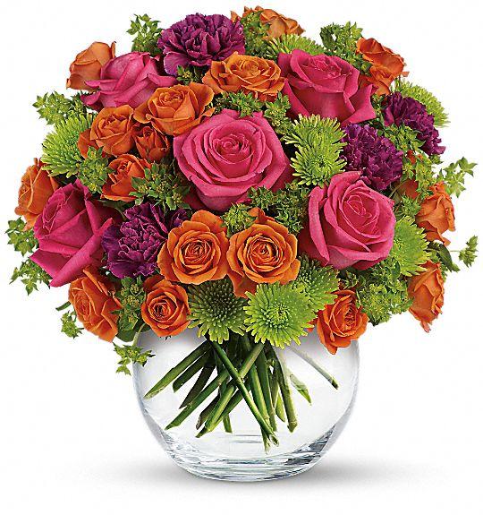 Teleflora's Smile for Me Flowers